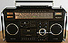 Grundig RR 1140 Brown Edition