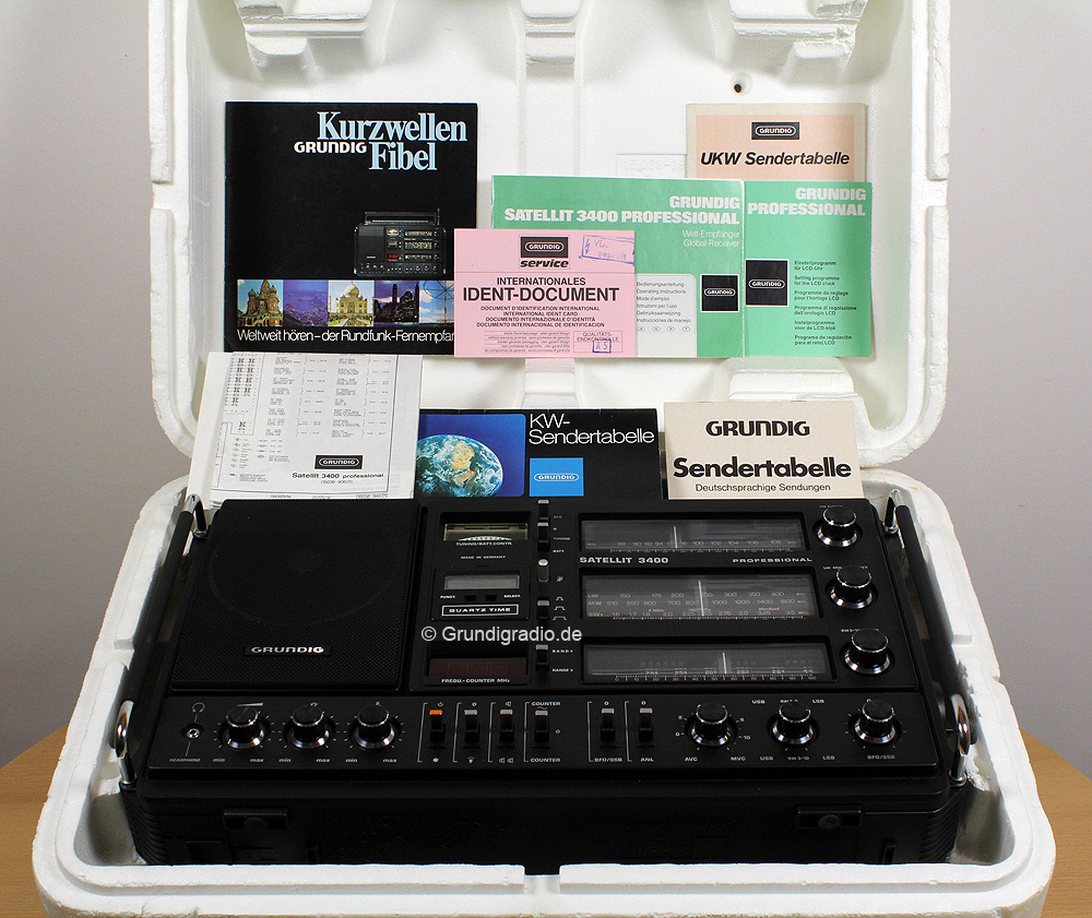Grundig Satellit 3400 Professional